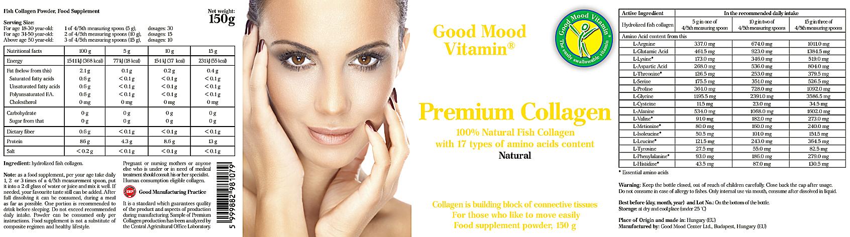 collagen supplement before after